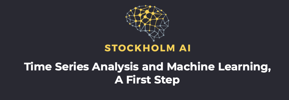 banner on post 'Time Series Analysis and Machine Learning, a First Step'